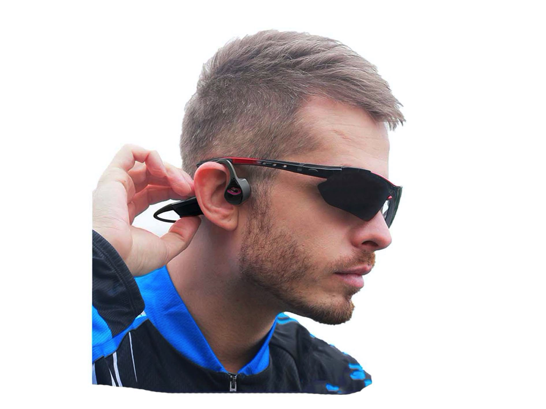 Pro9 Bone Conduction a Special Kind of Wireless Headphone That Allow The User to Hear Music & Calls (Pro9 Bone Conduction)